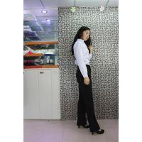 2014秋季精品修身韩版OL通勤女黑色女西裤职业装
