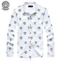 供应批发一件代发男士长袖衬衫潮韩版男装衬衣印花打底衫 Jqwi148037