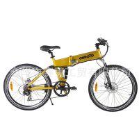 厂家直销 100%出口欧美铝合金锂电电动自行车 质量保证 量大从优