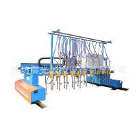 H型钢流水线数控等离子 多头条切割机、山东专业生产厂家