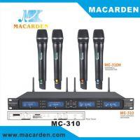 MACARDEN 麦卡顿演出专用 婚庆主持 KTV专用UHF无线麦克风MC-310