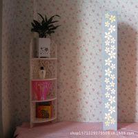 创意雕花简约落地灯 客厅卧室时尚书房现代落地灯
