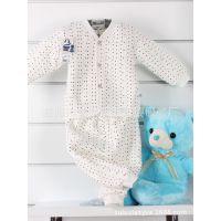 新款婴幼儿保暖内衣 纯棉加厚 内衣套装