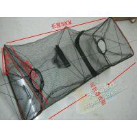 方形50-120CM龙虾螃蟹泥鳅笼 可折叠黄鳝网渔具垂钓用品批发