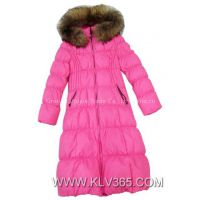 New Fashion Design Ladies Long Winter Down Jacket