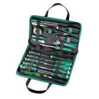 特价23件基本电工维修组套、03780、苏州世达工具、世达工具套装