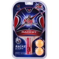 乒乓球拍 战甲乒乓球拍 ZJ6606双反胶乒乓球拍 训练球拍 单只装