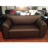 欧式沙发组合客厅家具 售楼部沙发 新古典工程沙发布艺真皮软沙发