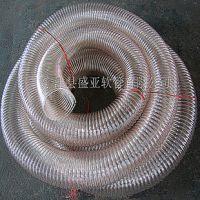 供应食品级PU钢丝螺旋伸缩管,不含塑化剂