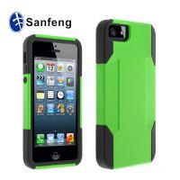 新品促销 正品iPhone5硅胶防滑手机壳 苹果5g多功能保护外壳 潮