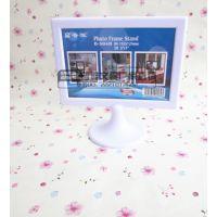 批发供应 简约高档白色B6立式相框 家居装饰照片框