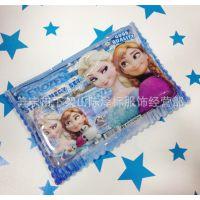 迪士尼冰雪奇缘笔袋套装Frozen文具套装 冰雪 艾莎铁笔盒文具组合