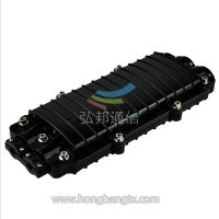 【弘邦优质】光缆接续盒 阻燃V0级 出口工艺品质 24芯光缆接头盒