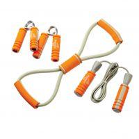 低价批发 攀能 健身器材4件套 PN-5145 家用便携式健身器材4件套