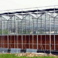 金辉温室材料供应一流的温室大棚建造 玻璃连栋温室大棚