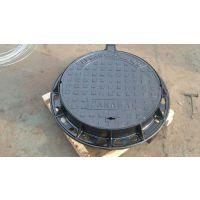 新日牌五防球磨铸铁圆形井盖-市政工程深井爬梯专业生产