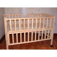 康贝儿实木童床ST168批发 环保无漆婴儿床 简洁可调宝宝床游戏床
