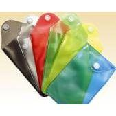 PVC透明U盘袋PVC磨砂U盘袋彩色U盘袋按扣袋
