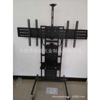 厂家专业订制五金展示架 电视机展示铁 会议室可移动支架