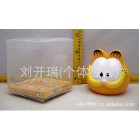 新奇特商品 加菲猫创意儿童储蓄罐卡通咖啡猫搪胶存钱罐工厂直销