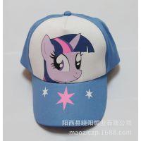 帽厂供应儿童帽子 动漫卡通流行印花帽 小智神奇宝贝儿童棒球帽