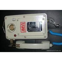 甘肃兰州厂家供应矿用本安对讲电话机 KTT10 电话对讲机 只需2根线联机10部电话