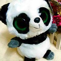 yoohoo系列 超可爱熊猫公仔 毛绒玩具批发 动漫玩具