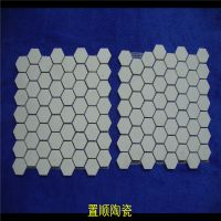 供应管道用氧化铝耐磨陶瓷马赛克
