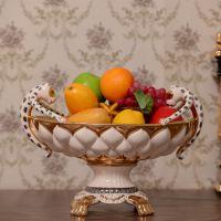 一件代发新款意大利设计金钱豹奢华水果盘婚庆乔迁用品欧式果盘