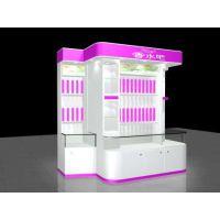 供应马鞍山一休广告专业化妆品展柜、药店柜台、珠宝展柜、手机展柜设计制作安装。
