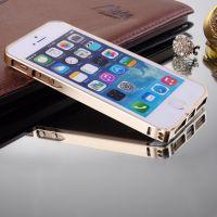 供应iphone5S手机壳 iphone5金属边框 苹果5手机套 5S边框保护套外壳