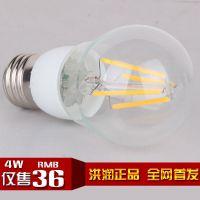 新款LED球泡灯LED灯丝球泡灯 LED钨丝灯 节能照明灯泡