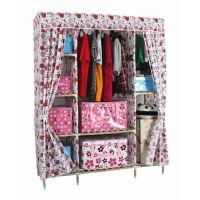 淘宝免费代理一件代发海乐新款实木衣柜 简易木衣柜 布衣柜 批发