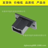 厂家低价批发 塑料紧固件 塑料配线器材 电线插座 BNC-01 黑色