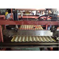 供应塑料瓦片波浪板挤出成套生产线设备