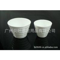 陶瓷竹节杯子 茶杯 酒杯 餐厅酒楼酒店陶瓷餐具用品直销批发