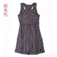 夏季女装背心韩版 吊带裙 原创裙式工字型纯棉小衫打底衫新款批发