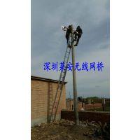 深圳莱安无线网桥传输高带宽的网络宽带实际应用