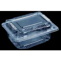 供应透明塑料包装对折盒