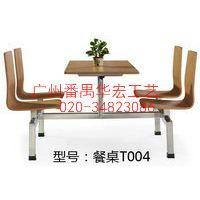 广州番禺厂家餐椅夹板餐桌
