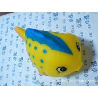 加工定做 搪胶金鱼 发声金鱼 金鱼玩具 塑胶玩具鱼