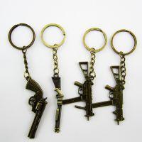 义乌游戏枪挂件 钥匙扣挂饰 摆地摊创意新产品 江湖地摊暴利礼品