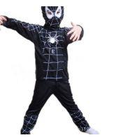 厂家直销 热销产品 蜘蛛侠第3集 黑色蜘蛛侠服装 190g