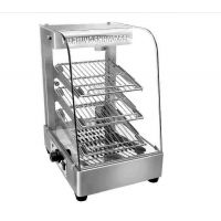 供应昆明瑞峰商行 汇利食品陈列 展示柜 BV-861 豪华不锈钢电热保温柜
