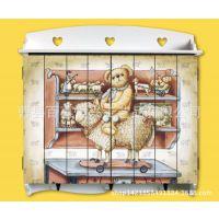 恒兴厂家直销精美实木装饰壁挂配电箱 美式田园风格木制电表箱