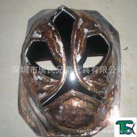 深圳龙岗塑胶面具、塑胶玩具、卡通公仔喷涂加工喷油铜模