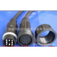 供应防水插头连接线 led防水插头连接线 隧道专用防水插头连接线