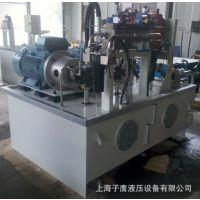 液压系统的流量与推力计算