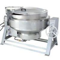 供应北京益友中央厨房设备-全钢燃气可倾汤锅(YY-150)