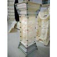 罗马柱模具 窗套 屋檐线 现浇围栏 山花等欧式构件模具